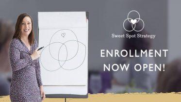 Racheal Cook - Your Sweet Spot Strategy