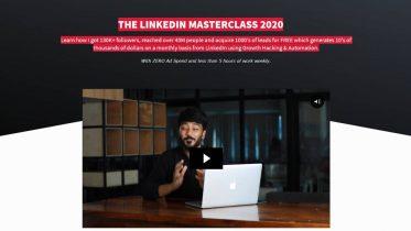 Vaibhav Sisinty – LinkedIn Masterclass 2020 Free Download