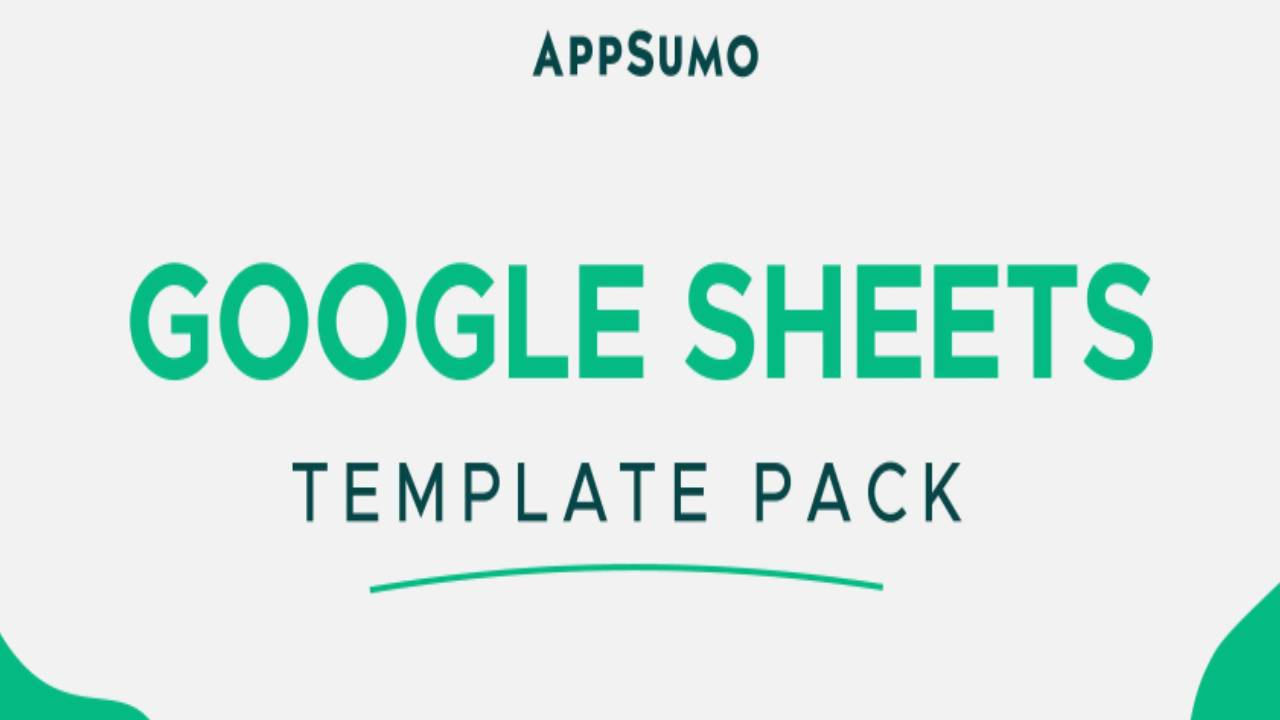 Google Sheets Template Pack