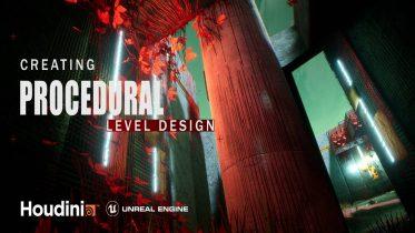 Gumroad - Houdini Tutorial Procedural Level Design in UE4