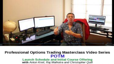 Anton Kreil - Professional Option Trading Masterclass (POTM)