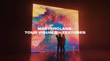 Ezra Cohen Masterclass - Tour Visuals + Textures