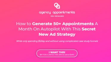 Josh Spark - Agency Appointments On Demand Masterclass