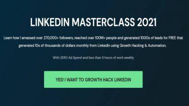 Vaibhav Sisinty - LinkedIn Masterclass 2021