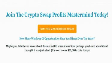 Crypto Swap Profits Mastermind by Joel Peterson
