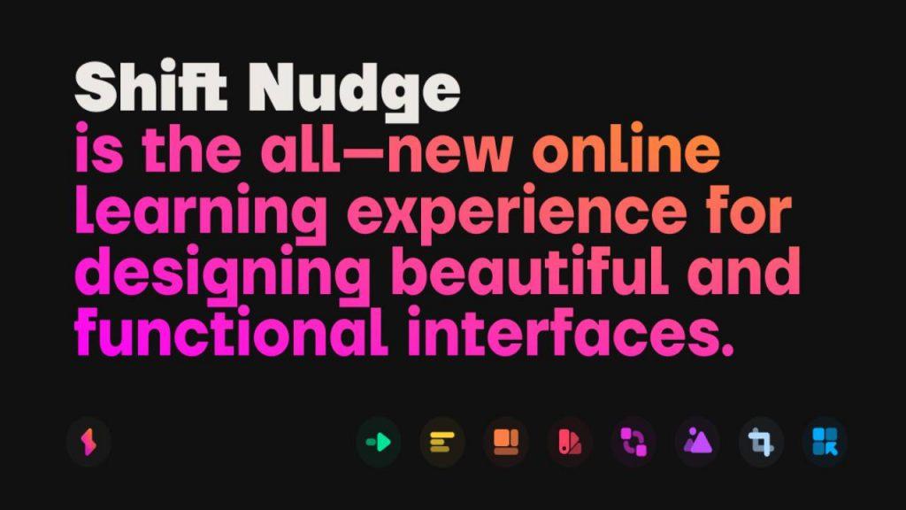 Shift Nudge – Interface Design Course