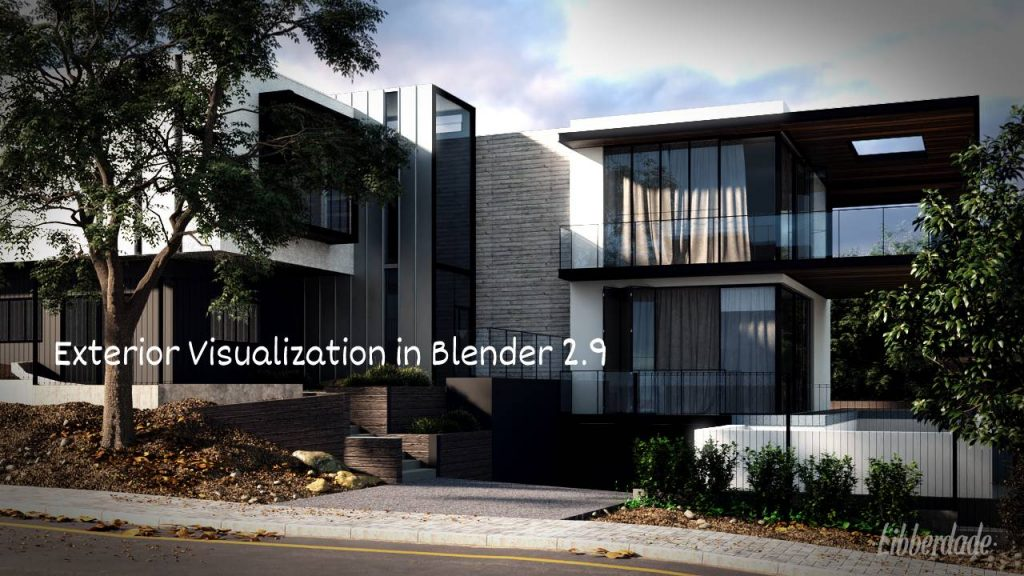 Exterior Visualization in Blender 2.9