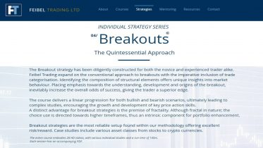 Feibel Trading Breakouts The Quintessential Approach (BRK)